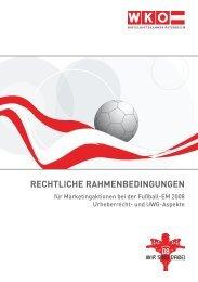 RECHTLICHE RAHMENBEDINGUNGEN - KWR