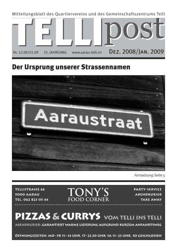24. Dezember 2008 2.–24. Dezember 2008 12.–24 ... - Telli Aarau