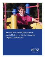 Special Education County Plan - Landmark Academy