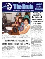 The Bruin (Vol. 6, Issue 33).indd - Bartlesville Public Schools
