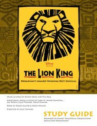 The Lion King Study Guide - Telecharge