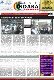 May 2nd Edition - taxiindaba.co.za