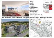 Im Berg 16, 18 und 20 - Homegate.ch