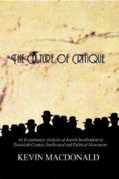Macdonald – The Culture Of Critique