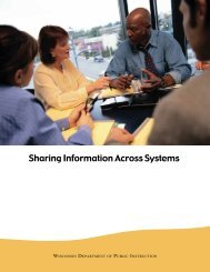 Sharing Information Across Systems - Student Services / Prevention ...