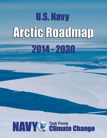 Artic Roadmap - U.S. Navy