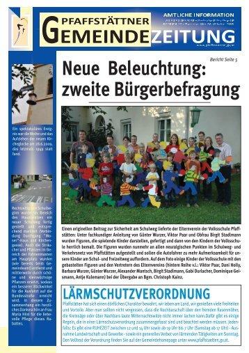 gelangen Sie zur Gemeindezeitung, Ausgabe 20 ... - Pfaffstätten