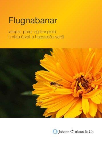 Flugnabanar - Jóhann Ólafsson & Co