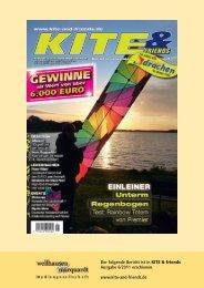 Michael Tiedtkes Hot Stripes als Duo und Trio - Space Kites