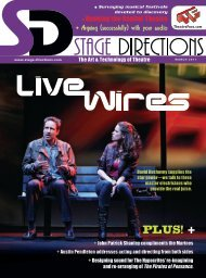 Country Teamwork - Stage Directions Magazine