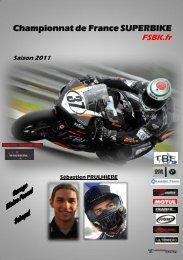 Championnat de France SUPERBIKE Saison 2011