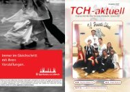 TCH-aktuell 01/07 - Tanzclub Hanseatic Lübeck eV