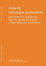Guía de estrategias preventivas para reducir la conducción bajo los ...