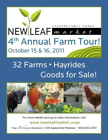 32 Farms • Hayrides Goods for Sale! - Leon County Extension