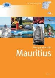 Mauritius: Doing Business - JHI