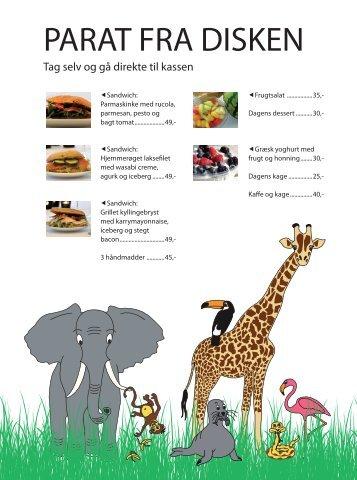 Tag selv og gå direkte til kassen - Aalborg Zoo