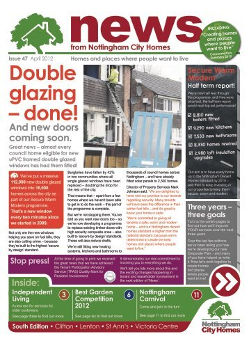 South edition - Nottingham City Homes
