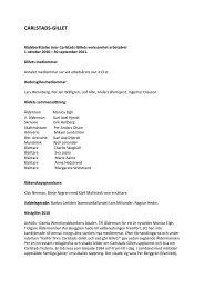 Rådsberättelse 2011 - Carlstads-Gillet