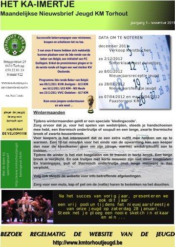 Ka-imertje 8 - jeugd Torhout 1992 KM