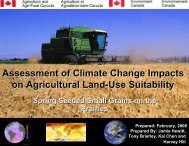 Assessment of Climate Change Impacts on Agricultural Land-Use ...