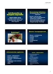 F-MPJ-Antireumatika-E10 - Institutleder til klinisk medicin