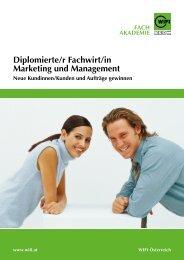 Diplomierte/r Fachwirt/in Marketing und Management