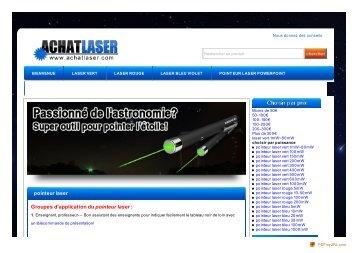 pointeur laser