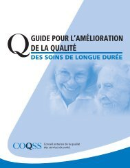 conseil! - Long-Term Care Best Practices Toolkit