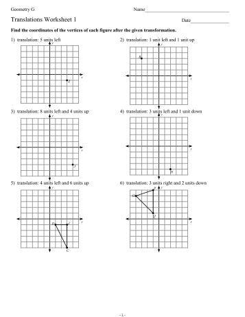 Worksheets Parabolas Worksheet parabolas worksheet translations 1