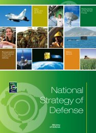 National Strategy of Defense