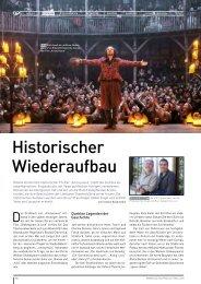 Historischer Wiederaufbau - Tatiana Rosenstein