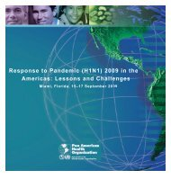 Response to Pandemic (H1N1) 2009 in the Americas - Avian and ...