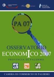 Osservatorio Economico 2007 - Torna all'Home Page - Unioncamere
