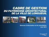 CADRE DE GESTION - Ville de Longueuil