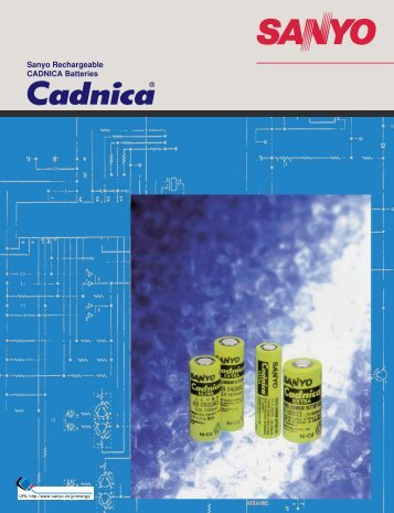 Sanyo Rechargeable CADNICA Batteries - Elfa