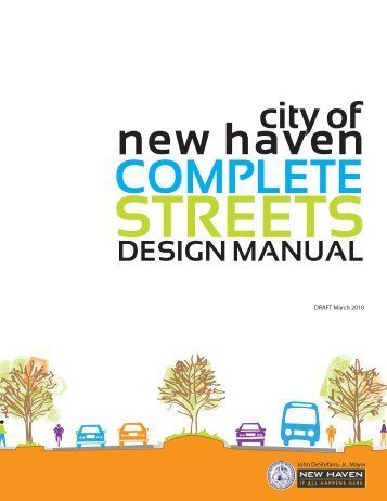 Complete Streets Design Manual - New Haven Online