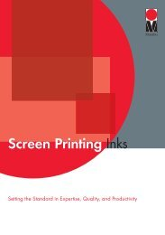 Screen Printing Inks - Spacio