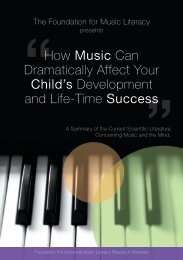 How Music Can Dramatically Affect Your Child's ... - BrillKids