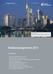 Risikomanagement 2011 - WM Datenservice
