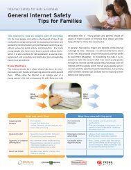 General Internet Safety Tips for Families - Trend Micro