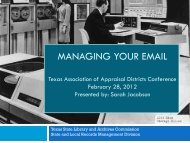 Welcome to Managing your email state and local records ...