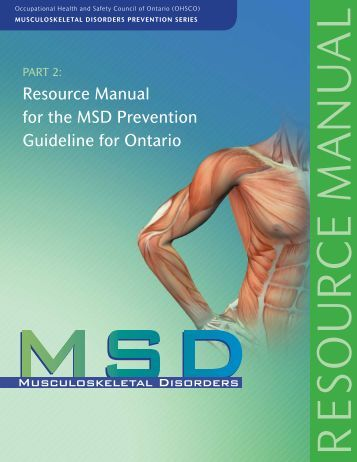 MSD Prevention Series