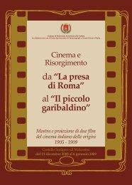 Cinema e Risorgimento - Comune di Malcesine
