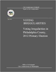 Voting Irregularities Report