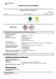 Ossigeno liquido refrigerato FE - Air Liquide Italia