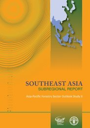 Southeast Asian forests and forestry to 2020 - APAFRI-Asia Pacific ...
