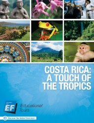 Costa Rica - EF Educational Tours