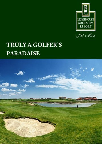 Lighthouse Golf Brochure. PDF - Lighthouse Golf Resort