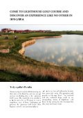 Lighthouse Golf Brochure. PDF - Lighthouse Golf Resort - Page 2