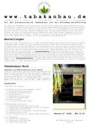 Unser aktuelles Prospekt zum Download (PDF) - Tabakanbau.de